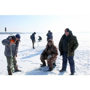 «Липецкцемент» провел соревнования по подледному лову