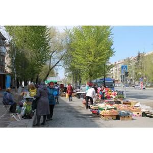 Активисты Народного фронта провели рейд по стихийным рынкам Тюмени