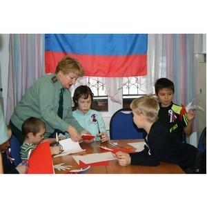 Томские таможенники провели мастер-класс для воспитанников «Орлиного гнезда»