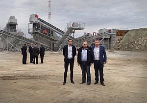 На «Синарском щебеночном карьере» заработал новый дробильно-сортировочный завод Sandvik