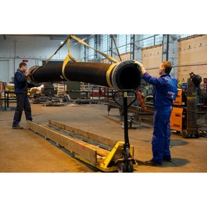 Резиновый гибкий трубопровод «Компенз-Вибро» для угольной промышленности