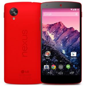 LG и Google объявили о выпуске  неоново-красного Nexus 5