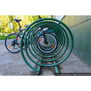 —алаватский катализаторный завод организовал велопарковку дл¤ своих сотрудников