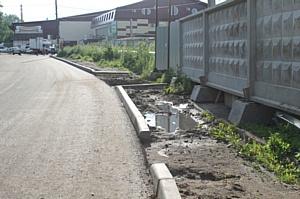 В ОНФ поступают массовые жалобы на отремонтированную дорогу в одном из микрорайонов Кирова