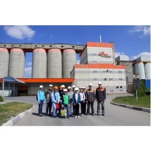 «Липецкцемент» посетили с экскурсией учащиеся детского технопарка «Кванториум»