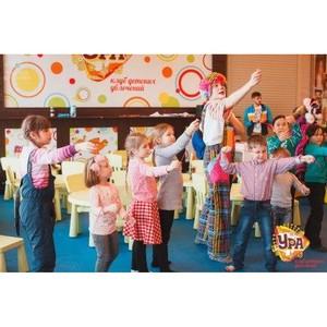 Клуб «Ура»: креативные  мастер-классы и развивающие занятия для детей в ТРЦ Аура