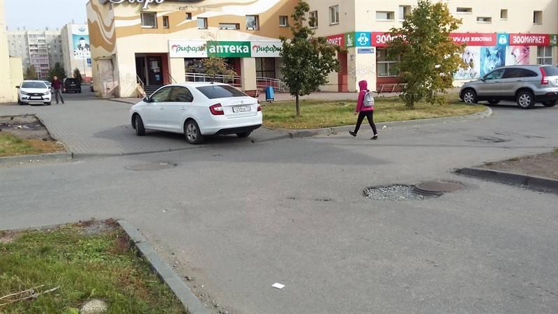 Представители Народного фронта и ГИБДД выявили небезопасные пешеходные переходы у школ Челябинска