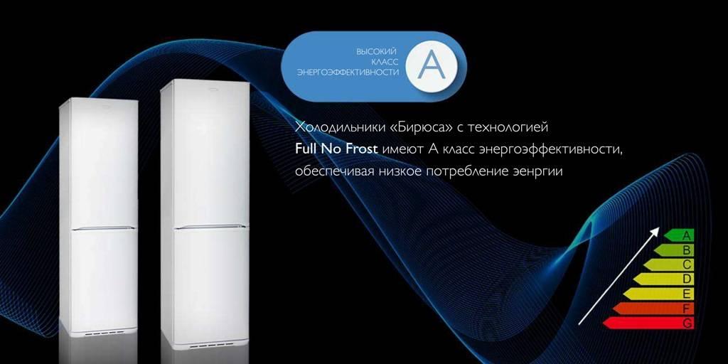 Холодильники «Бирюса» с системой Full No Frost