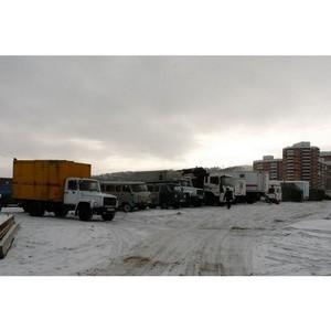 Условная авария в Улан-Удэ. Тренировка