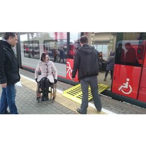 Эксперты ОНФ разработали предложения по улучшению доступности для инвалидов МЦК