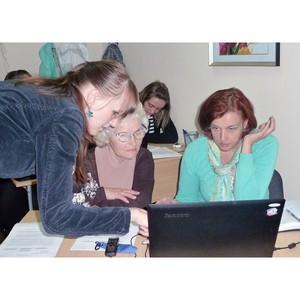 В «Доме НКО» прошел мастер-класс «Создание сайта: легко и бесплатно»