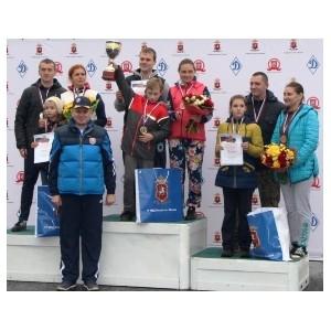 Сотрудники зеленоградской полиции выступили на спортивном празднике в Олимпийском комплексе «Лужники»