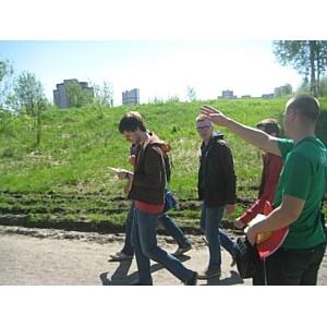 ѕод слоем грунта в одном из мест отдыха жителей —анкт-ѕетербурга гниют отходы