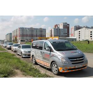 Эксперты ОНФ провели рейд по «убитым» и гарантийным дорогам Барнаула