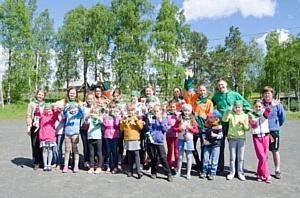Компания «Лафарж» провела праздник для детей