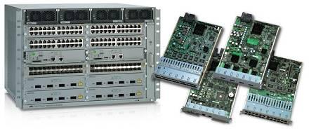 В продаже модульные коммутаторы на шасси Allied Telesis SwitchBlade x3106 и SwitchBlade x3112