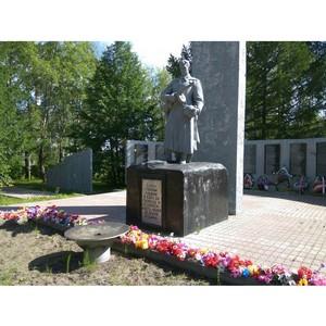 Активисты ОНФ проверили состояние Вечных огней в Карелии
