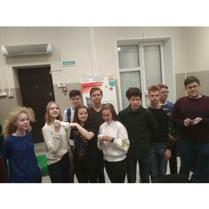 Экскурсия для школьников в ИВЦ РИЦ УрФУ