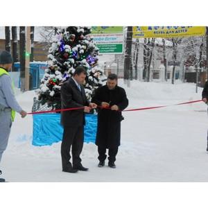 ОАО «Ивгорэнергосбыт» помог создать в Городском детском парке атмосферу зимней сказки