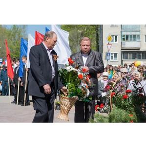«Ульяновскцемент» поздравил ветеранов Великой Отечественной войны с Днем Победы