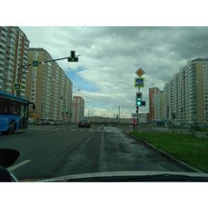 В канун Дня светофора активисты ОНФ добились подключения светофора на опасном перекрестке Москвы
