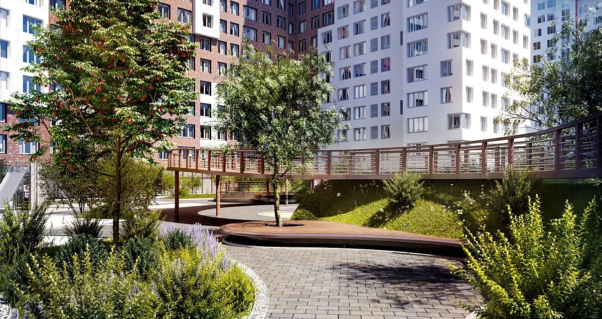 Сбербанк кредитует ЖК «Румянцево-Парк»
