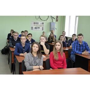 Специалисты Тамбовэнерго провели профориентационную встречу со студентами ТГТУ