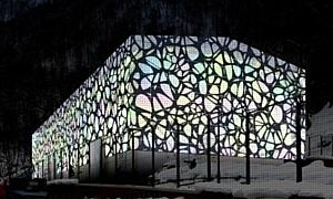 Фасады подстанций ОАО «ФСК ЕЭС» в Красной поляне будут декорированы