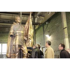 Ростовский памятник Алексею Бересту отлит в бронзе