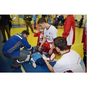 В Костроме прошли соревнования по оказанию первой помощи среди допризывной молодежи