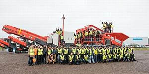 50 дистрибьюторов приняли участие в конференции Sandvik Construction Mobile Crushers and Screens