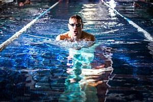 Межконтинентальный Благотворительный марафонский проплыв Ильи Майского в Красном море
