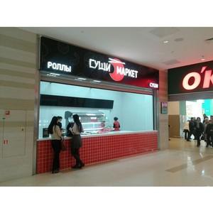 Магазин японской кухни «Суши-маркет» формата take-away открылся в ТРЦ «Планета»