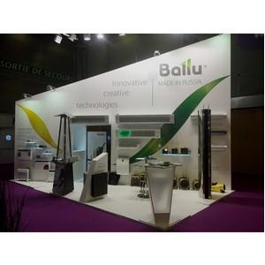 ћировые премьеры Ballu на международной выставке в ѕариже