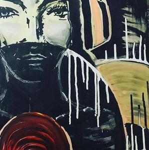 Выставка художника Марии Красновой Vinyl Acryl 2 на территории Трёхгорной мануфактуры