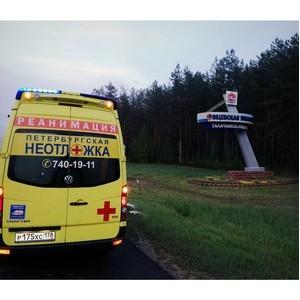 «Петербургская Неотложка» выполнила медицинскую эвакуацию из Минска