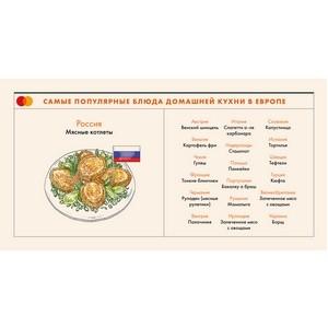 Исследование Mastercard: топ-20 блюд домашней кухни в России и Европе