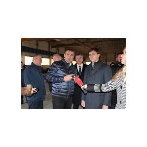"""Врио губернатора Орловской области посетил производственную площадку """"ВСО Профиль"""""""