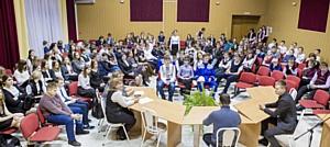 Сотрудники Стойленского ГОКа рассказали школьникам о горных профессиях