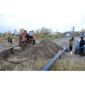 Томские активисты ОНФ добились замены ветхого участка водопроводных сетей в поселке Тогур