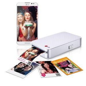 Карманный фотопринтер LG PD233 для печати фотографий в любом месте без проводов