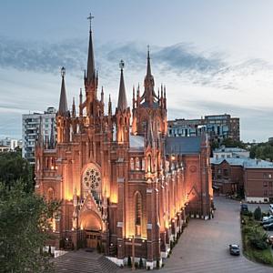 Большой Пасхальный концерт для органа, оркестра и солистов состоится в Католическом соборе 16 апреля
