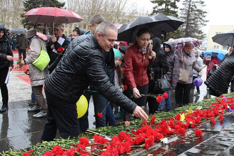 На  Уралмашзаводе прошли праздничные мероприятия, посвященные дню Победы