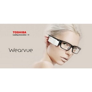 Toshiba представляет смарт-очки Wearvue TG-01