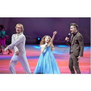 Премьера песни «Звезда» в исполнении Димы Билана и юной Елизаветы Анохиной на шоу «Щелкунчик»