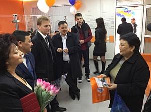 Система Contact открыла первый в Кыргызстане фирменный офис