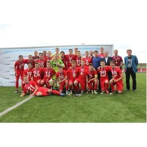 Футбольная школа «Спартака» - сильнейшая среди игроков 2001 года рождения