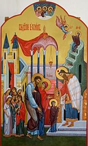 Иконостас для Свято-Введенского храма (Вологодская область)
