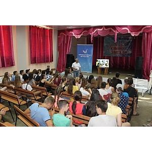 Активисты ОНФ рассказали об экологическом проекте Народного фронта белгородским старшеклассникам