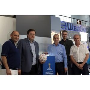 Игру российских врачей на чемпионате мира по футболу спонсирует «Швабе»